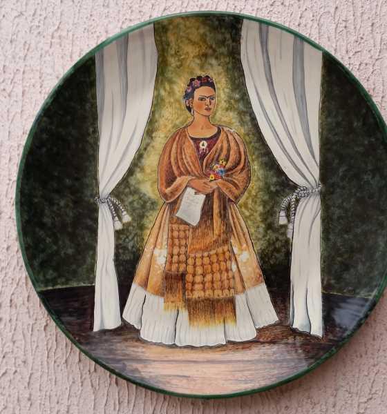 Plantones decorativos de Frida Kahlo
