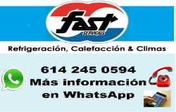 Fast Servicios Refrigeración>Domestica>Comercial>Industrial