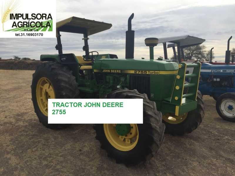 tractor agricola john deere 255 año 92