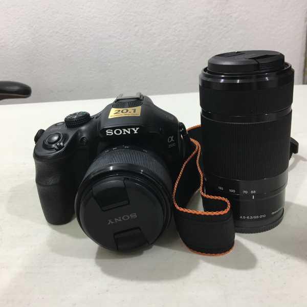Cámara fotográfica, Sony A3500