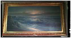 PINTURA ORIGUINAL P.WILLIAMS LA MAR