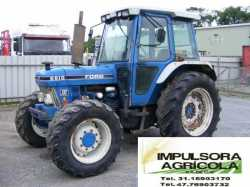Tractor Agricola Ford 6610 modelo 2001