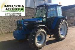 Tractor Agricola Ford 7740 modelo 2001