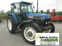 Tractor Agricola Ford 7840 modelo 2000