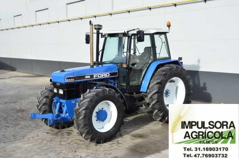 tractor agricola 8340 modelo 2002