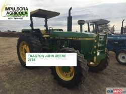Tractor Agricola John Deere 2755 Modelo 1992