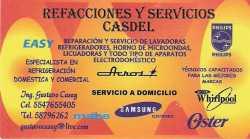 REPARACIONES Y SERVICIOS CASDEL