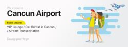 Transportación desde el aeropuerto de Cancun