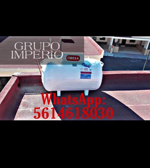 GRAN PROMOCION TANQUE ESTACIONARIO MARCA BESA DE 300 LTS