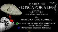 """""""MARIACHI JUVENIL LOS CAPORALES A SUS ORDENES""""CEL:(045)7736823276"""