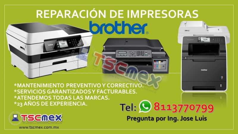 ReparaciOn de Impresoras Brother