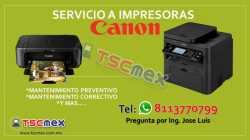 Servicio a Impresora CANON
