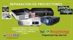 Reparacion de Proyectores en Monterrey