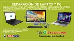 Reparacion de Impresoras Laptops y PC en Monterrey