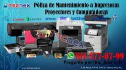 Poliza de Mantenimiento a Impresoras