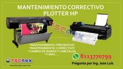 Mantenimiento Correctivo Plotter HP