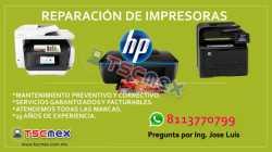 Reparación de Impresoras HP en MTY