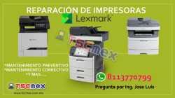 Mantenimiento de Impresoras Lexmark