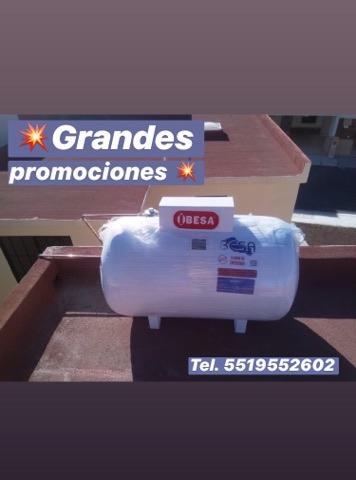 OFERTA  Tanque estacionario de 300 lts Besa (instalado)