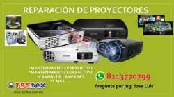 Reparación  Proyectores