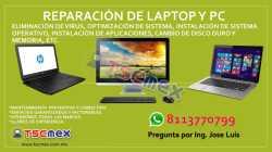 Reparacion de Laptop y PC