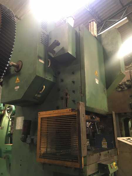 Troqueladora Neumatica Vapsarov 100 toneladas